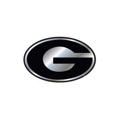 Georgia Car Magnet Chrome G Logo