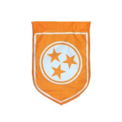 Tennessee Tristar Shield Garden Flag