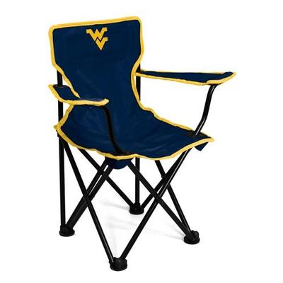 West Virginia Toddler Tailgate Chair