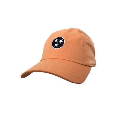 Volunteer Traditions Orange Tri-Star Hat