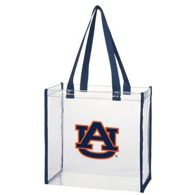 Auburn Clear Stadium Tote
