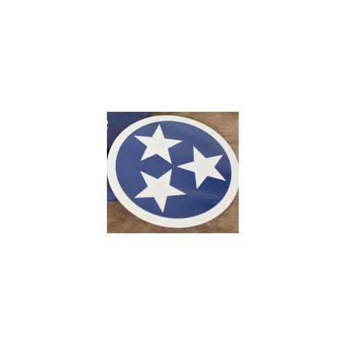 Tennessee Tristar Decal By Volunteer Traditions