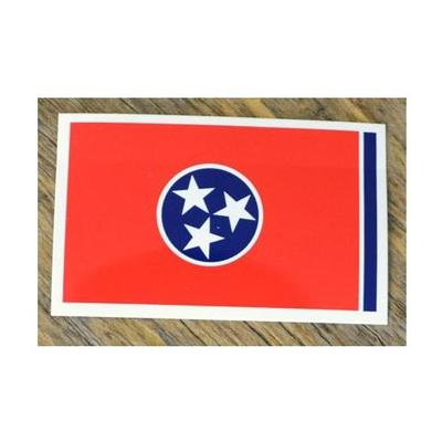 Tennessee Volunteer Traditions State Flag Decal