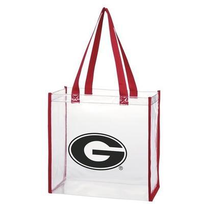 Georgia Clear Stadium Tote