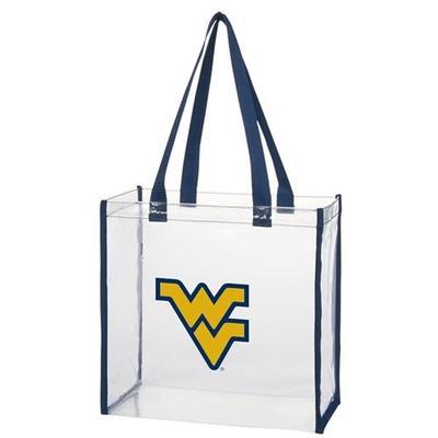 West Virginia Clear Stadium Tote