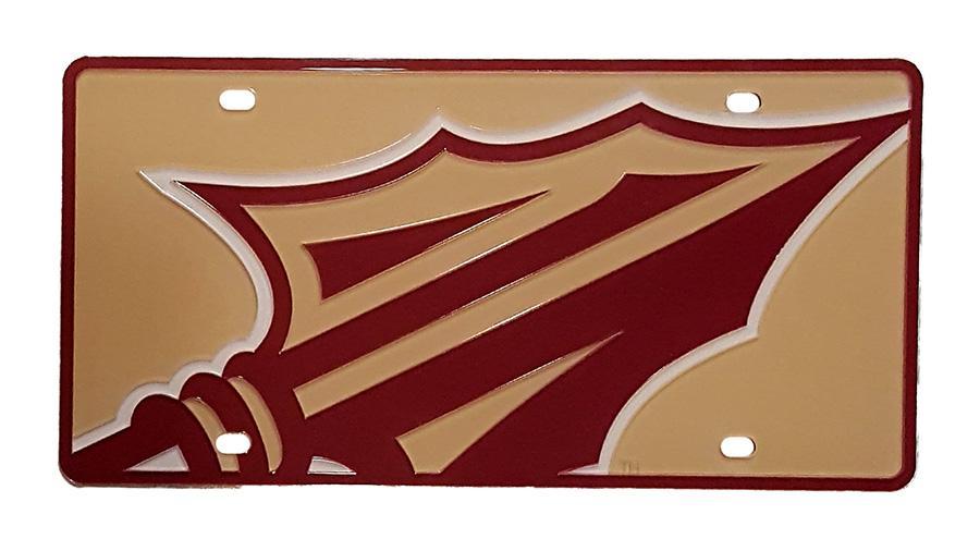 Florida State Mega Logo License Plate