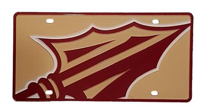 Florida State Mega Logo License Plate