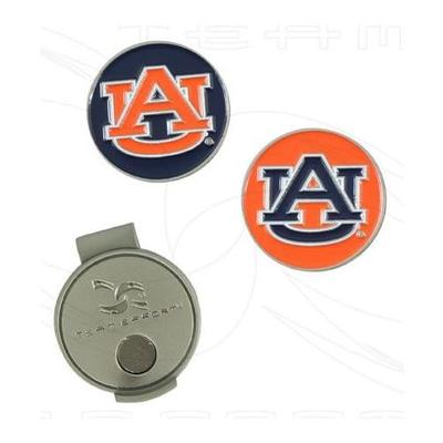 Auburn Team Effort Golf Ball Marker Hat Clip
