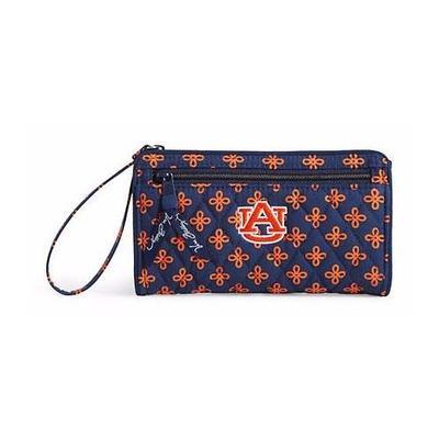 Auburn Vera Bradley Front Zip Wristlet
