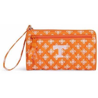 Tennessee Vera Bradley Front Zip Wristlet