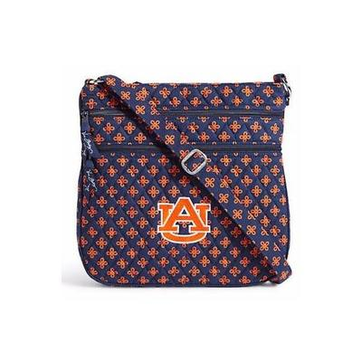 Auburn Vera Bradley Triple Zip Hipster Crossbody Bag