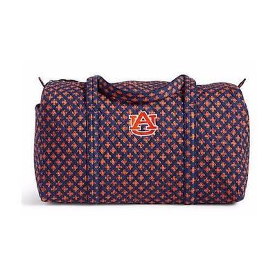 Auburn Vera Bradley Large Duffel Bag