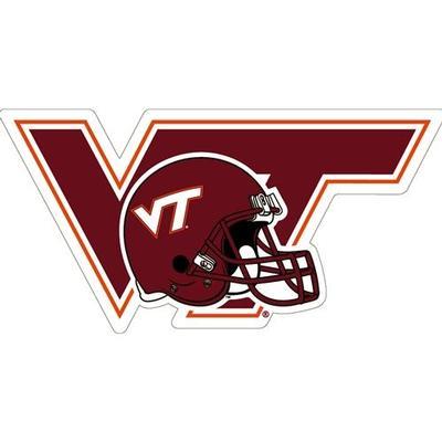 Virginia Tech Magnet VT Helmet Logo