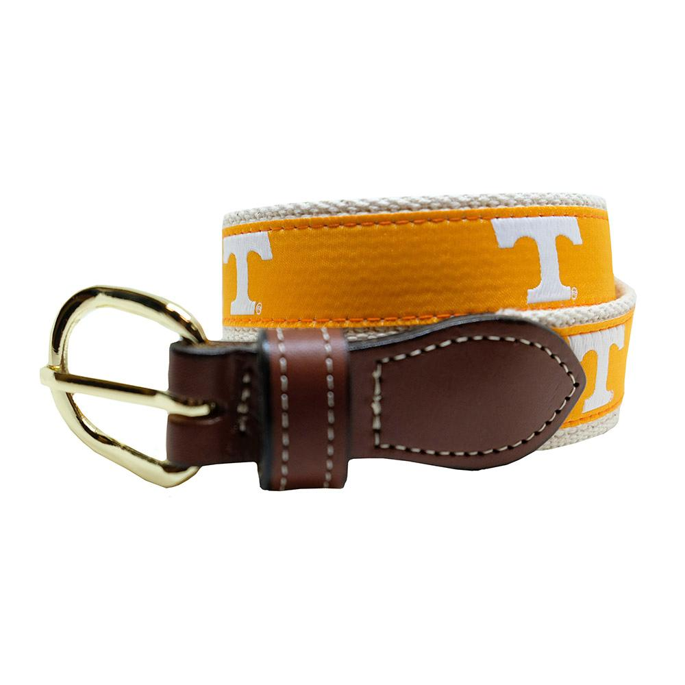Tennessee Web Leather Belt