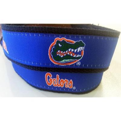 Florida Web Leather Belt