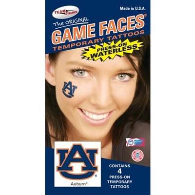 Auburn Face Tattoos