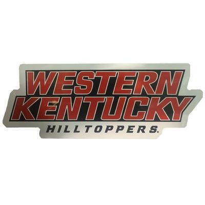 Western Kentucky Car Magnet Hilltoppers