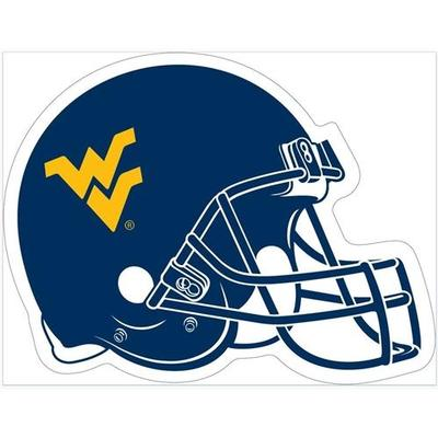 West Virginia Helmet Magnet 12