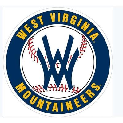 West Virginia Baseball Magnet 6