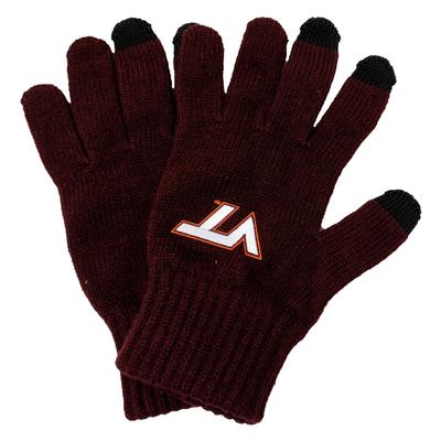 Virginia Tech Heavy Knit Gloves