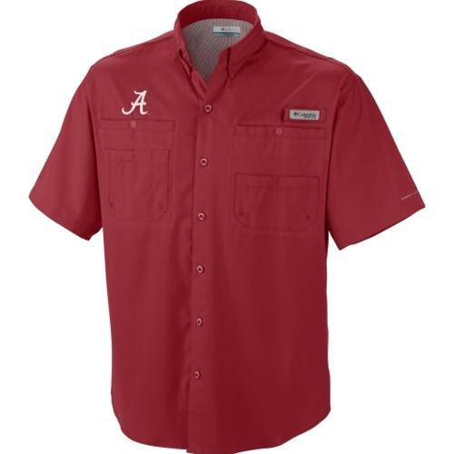 Alabama Columbia Tamiami Ii Woven Short Sleeve