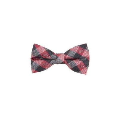 Arkansas Check Pattern Bow Tie