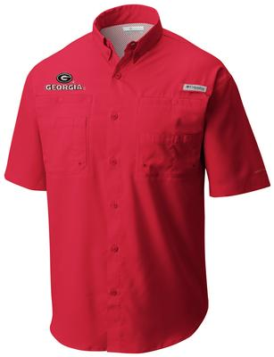 Georgia Columbia Tamiami Short-Sleeve RED