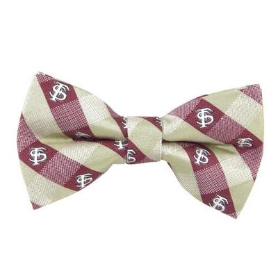 Florida State Bow Tie Check Pattern