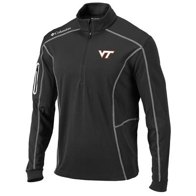 Virginia Tech Columbia Golf Shotgun 1/4 Zip Pullover