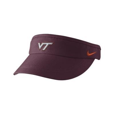 Virginia Tech Nike Sideline DriFit Visor