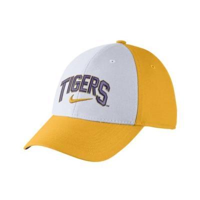 LSU Nike Legacy91 Swoosh Flex Hat