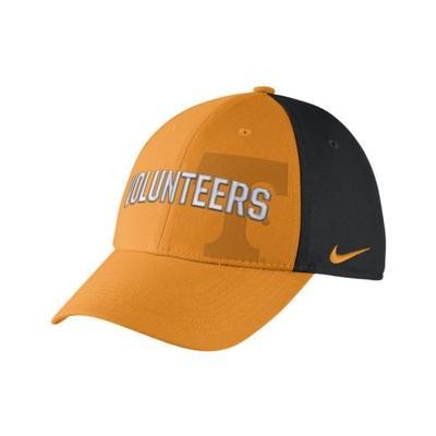 Tennessee Nike Classic Wordmark Swoosh Flex Hat
