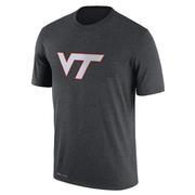 Virginia Tech Nike Dri- Fit Legend Logo Tee