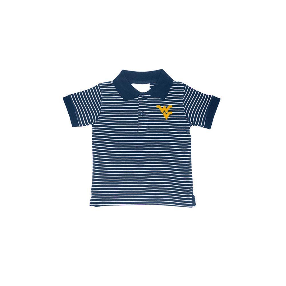 West Virginia Toddler Golf Polo