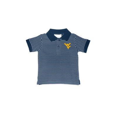 West Virginia Toddler Golf Polo