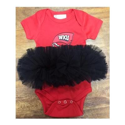 Western Kentucky Infant Tutu Creeper