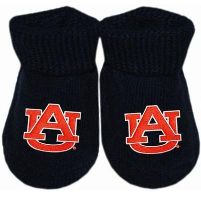 Auburn Infant Gift Box Booties