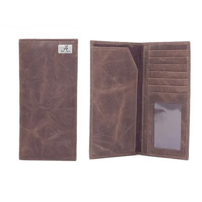 Alabama Leather Secretary Wallet