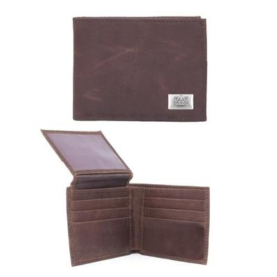 Auburn Leather Bifold Wallet