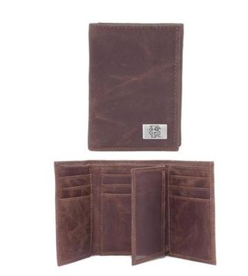 Florida State Leather Tri-fold Wallet