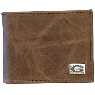 Georgia Genuine Leather Bi-Fold Wallet
