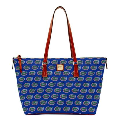 Florida Dooney & Bourke Zip Top Shopper Tote