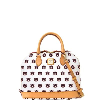 Auburn Dooney & Bourke Zip Zip Satchel