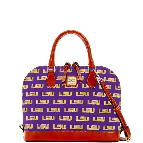 Lsu Dooney & Bourke Zip Zip Satchel