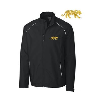 LSU Cutter and Buck Big and Tall Weathertec Beacon Full Zip Jacket