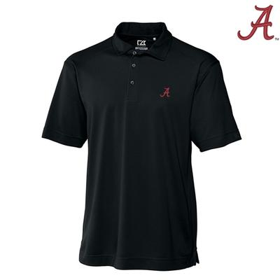 Alabama Cutter & Buck Big and Tall Genre Polo BLACK