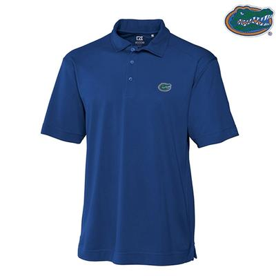 Florida Cutter and Buck Big and Tall DryTec Genre Polo TOUR_BLUE