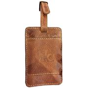 Kentucky Wildcats Leather Luggage Tag