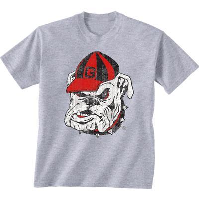 Georgia Giant Bulldog Logo T-shirt SPORT_GREY