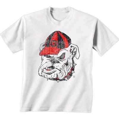 Georgia Giant Bulldog Logo T-shirt WHITE